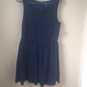 Navy old navy summer dress